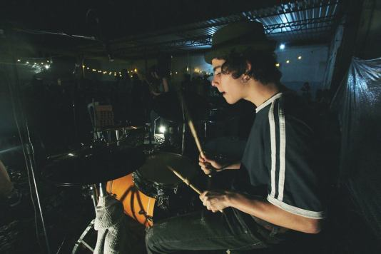 Pedro Lacerda, bateria/drums